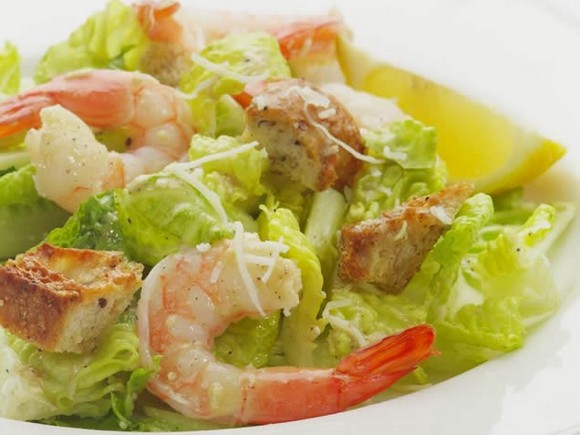 Shrimp Caesar Salad recipe