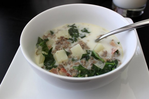 Zuppa Toscana Soup Recipe by everything in between