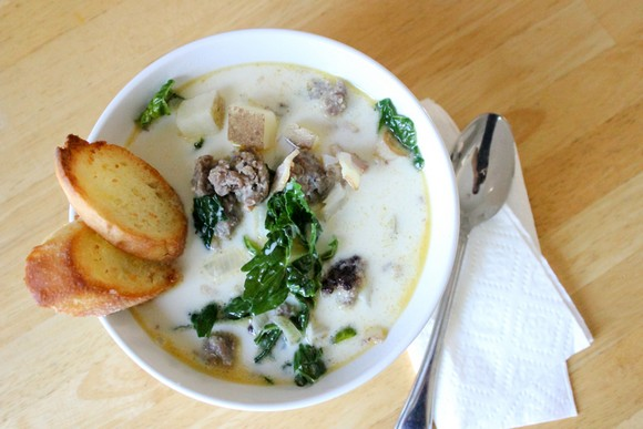Zuppa Toscana recipe by Delia Creates