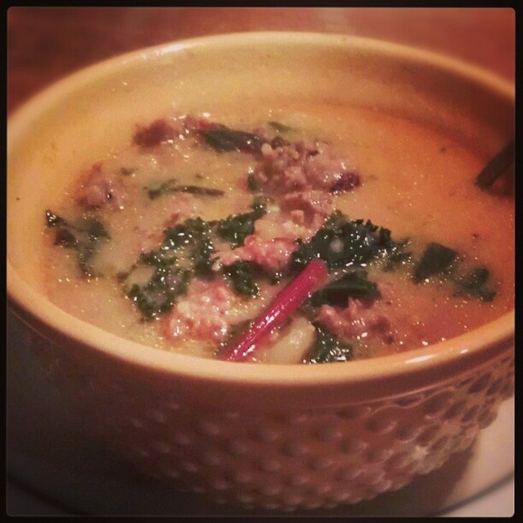 Zuppa Toscana recipe by Delicious Dilemmas