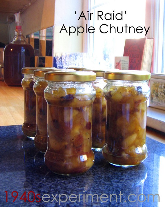 Air Raid Apple Chutney recipe photo
