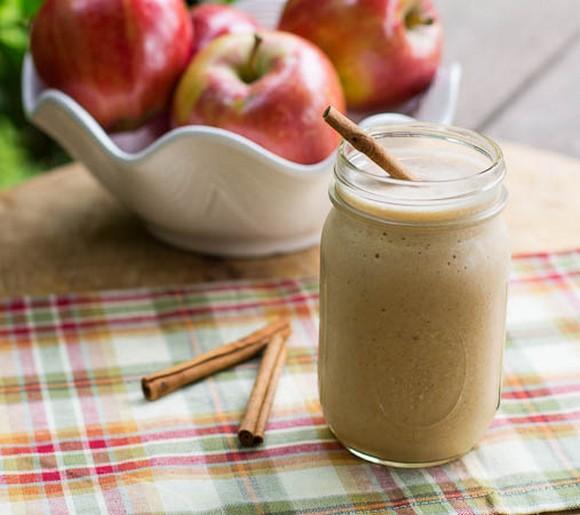 Caramel Apple Protein Shake recipe photo