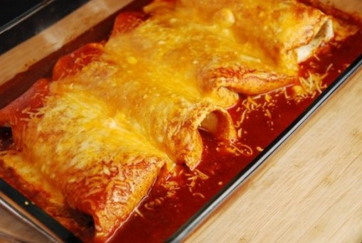 Crock Pot Chicken Burritos recipe photo