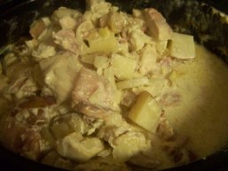 Crock Pot Chicken Carbonara recipe photo