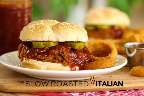 Jack Daniel's Crock Pot Pulled Pork Sandwich recipe photo