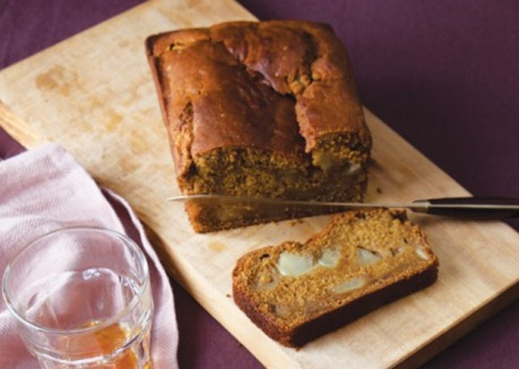 Low-Fat Pumpkin-Pear Bread recipe photo