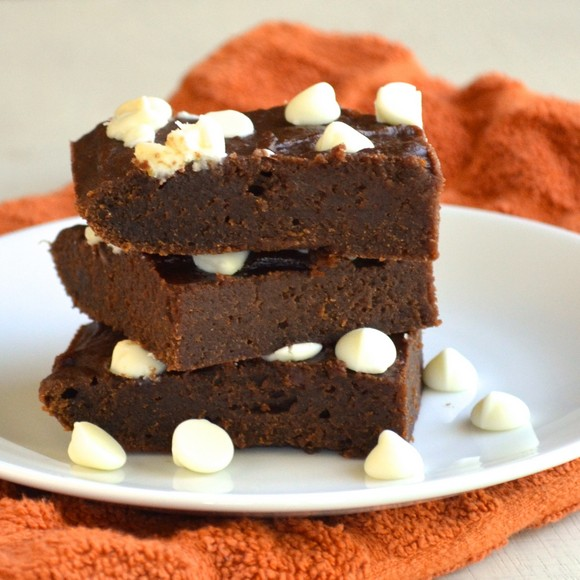 Skinny Pumpkin Spice Brownies recipe photo