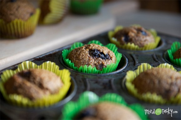 Whole Wheat Pumpkin-Applesauce Muffins recipe photo