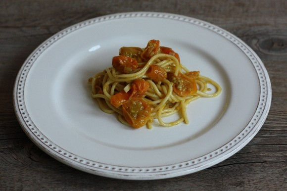 Spiced Sun-Gold Tomato Sauce recipe photo