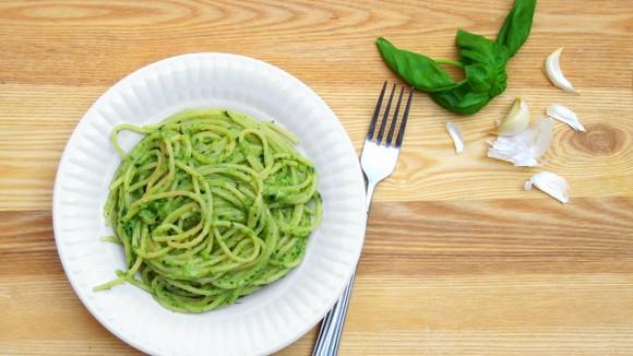 Zucchini Pesto Pasta recipe photo