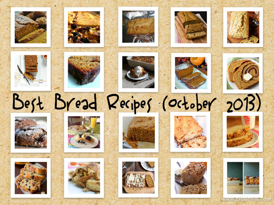 Best Bread Recipes on the Net (October 2013 Edition)