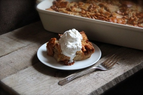 Butterscotch Bread Pudding recipe photo