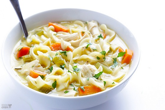 Creamy Chicken Noodle Soup recipe photo