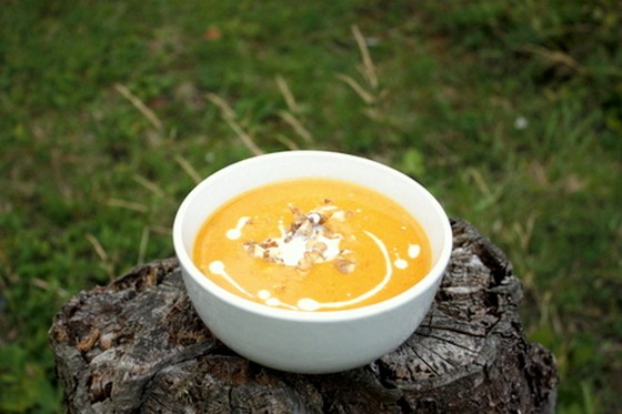 Curried Pumpkin Soup recipe photo
