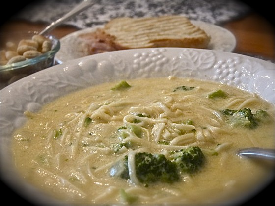 Easy Broccoli Cheese Soup recipe photo