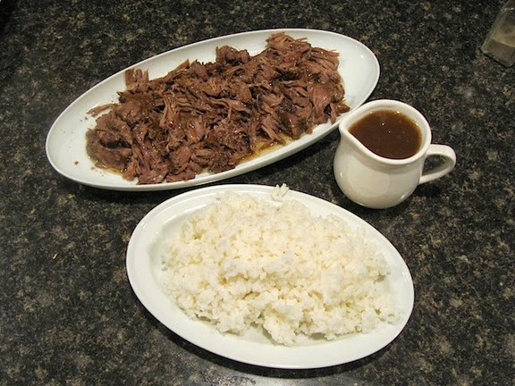 Easy Crockpot Balsamic Roast Beef recipe photo