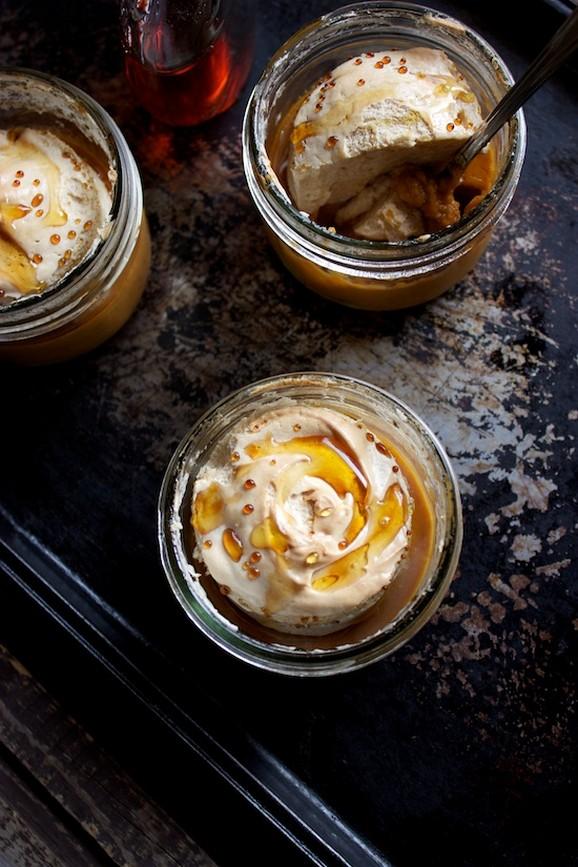 Gluten & Dairy Free Maple Pumpkin Pie with Brown Sugar Meringue recipe photo
