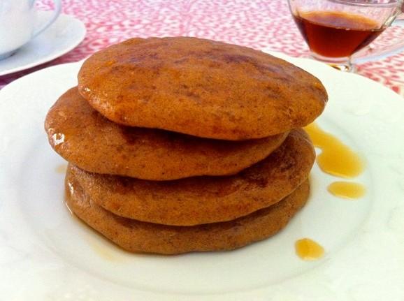 Gluten-Free Baked Pumpkin Pancakes recipe photo