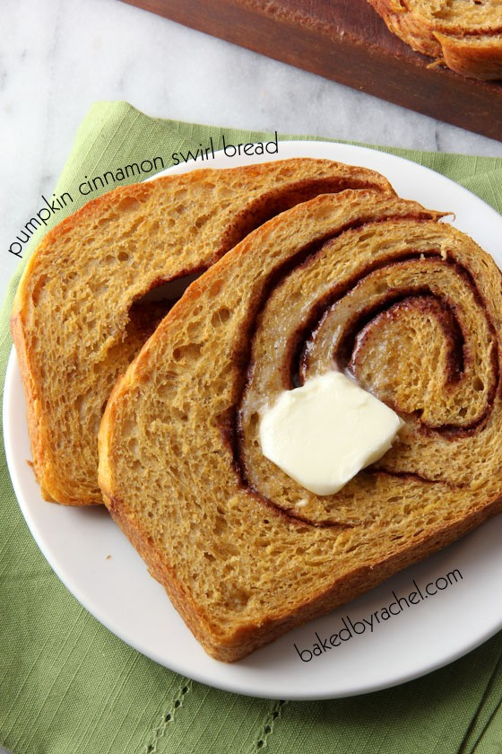 Pumpkin Cinnamon Swirl Bread recipe photo