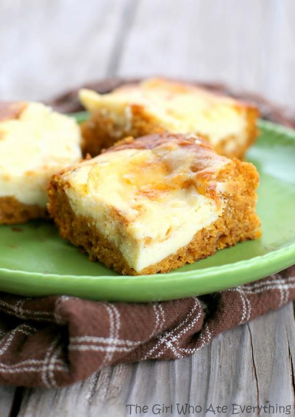 Pumpkin Cream Cheese Bars recipe photo