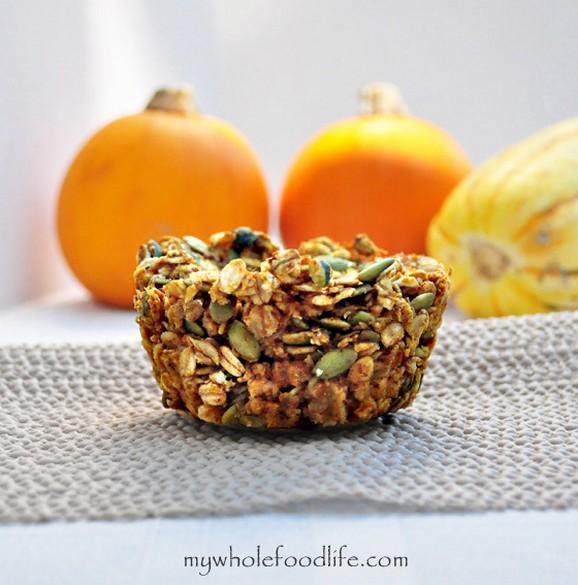 Pumpkin Pie Baked Oatmeal recipe photo