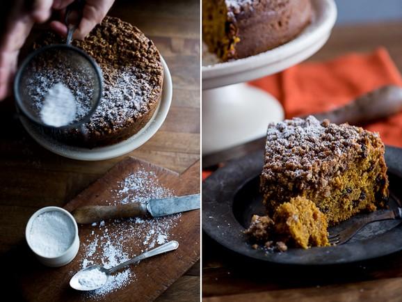 Pumpkin Spice Coffeecake recipe photo