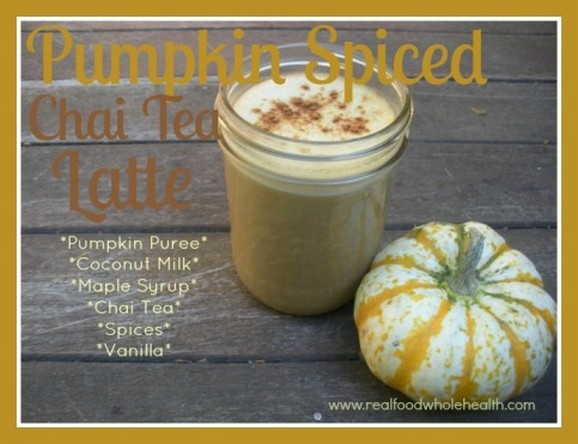 Pumpkin Spiced Chai Tea Latte recipe photo