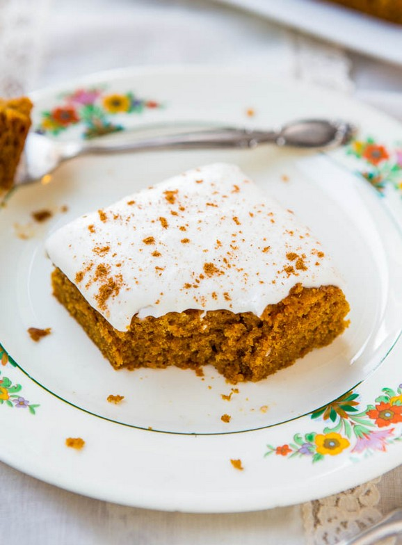 Soft Vegan Pumpkin Cake with Pumpkin Spice Buttercream Frosting recipe photo