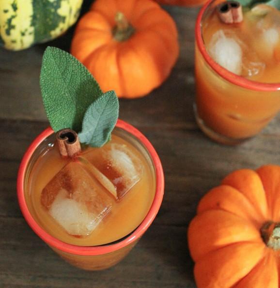 Spiced Pumpkin Punch recipe photo