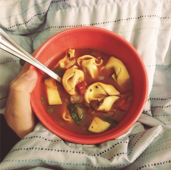Tortellini Soup recipe photo