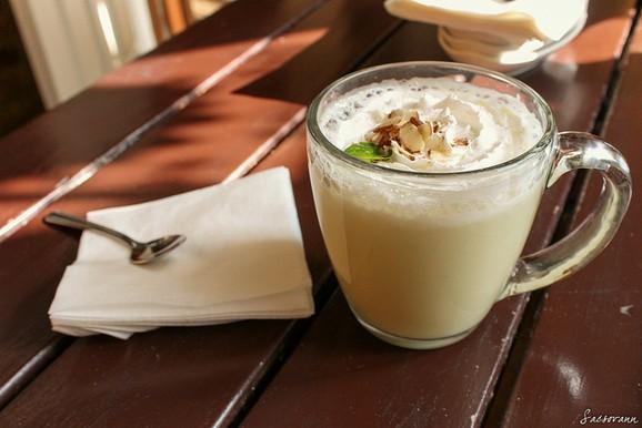 Vegan Pumpkin Spice Latte recipe photo