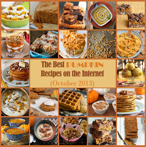 Best pumpkin recipes on the net october 2013 edition for October recipes