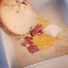 Baked Potato Soup recipe photo