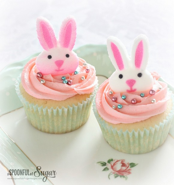Bunny Easter Cupcakes recipe photo