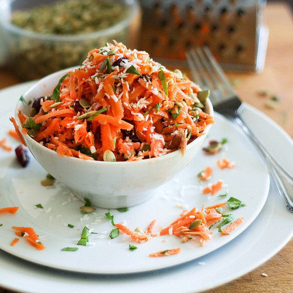 Carrot Raisin Salad recipe photo