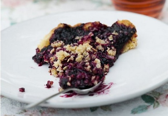 Diabetic Blueberry Pie recipe photo