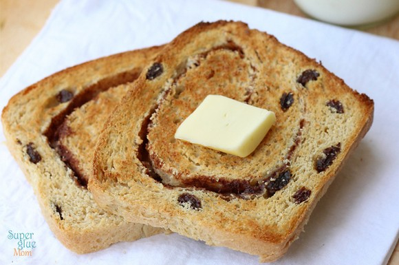 Homemade Cinnamon Raisin Bread recipe photo