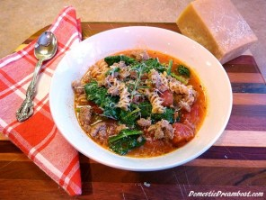 Italian Sausage Soup recipe photo