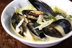 Mussel and Fennel Soup recipe photo