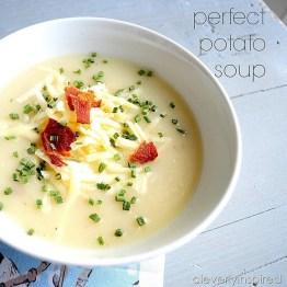 Perfect Potato Soup recipe photo