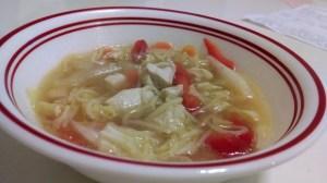Thai Chicken and Shrimp Soup recipe photo