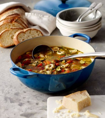 Tortellini and Vegetable Soup recipe photo