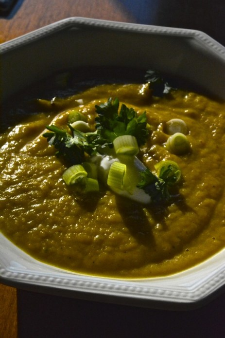 Vegetarian Butternut Squash Soup recipe photo