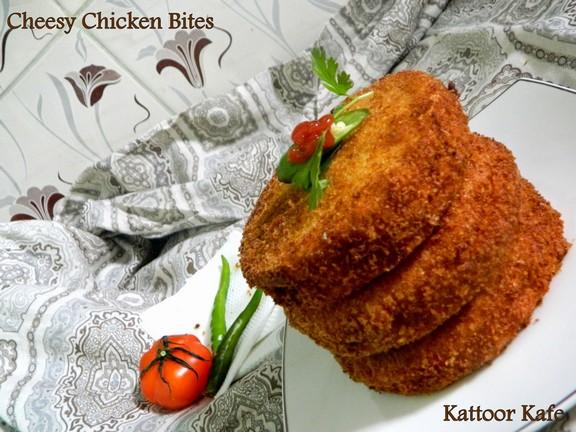 Cheesy Chicken Bites recipe