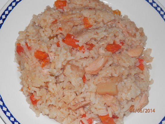 Crock Pot Turkey and Rice recipe photo