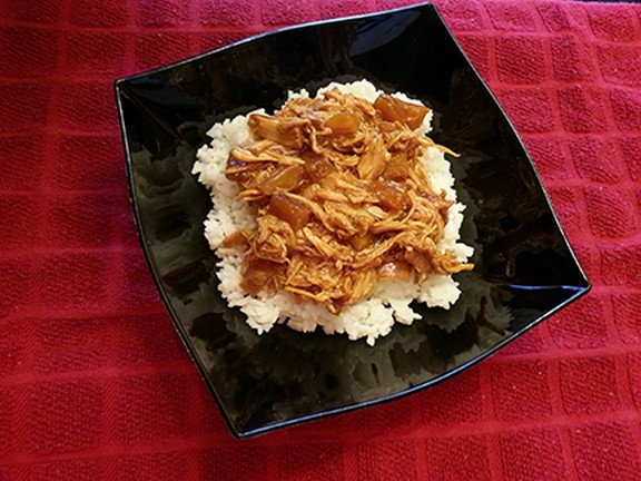 Crockpot Hawaiian BBQ Chicken recipe photo