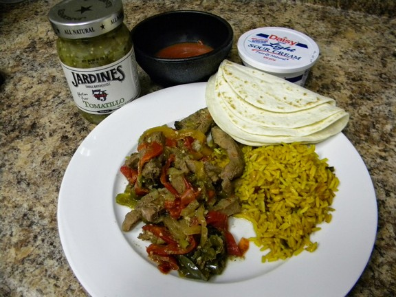 Freezer to Crockpot Fajitas recipe photo