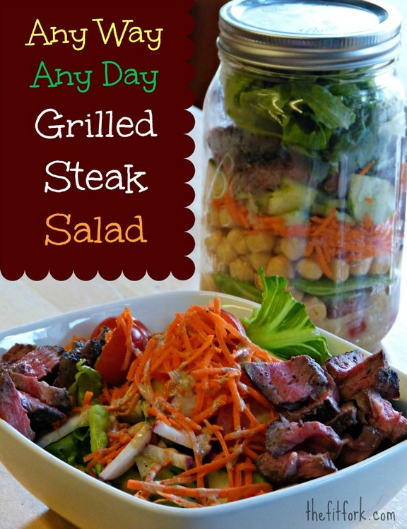 Grilled Steak Salad recipe
