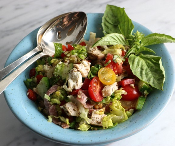 Italian Chicken Chopped Salad recipe