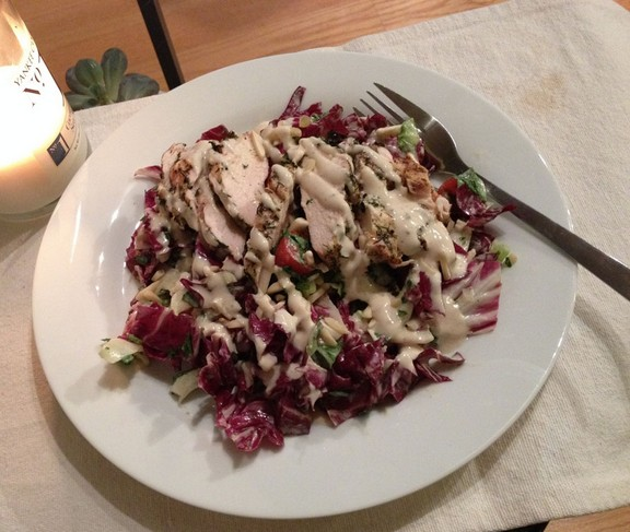 Middle Eastern Chicken Salad recipe